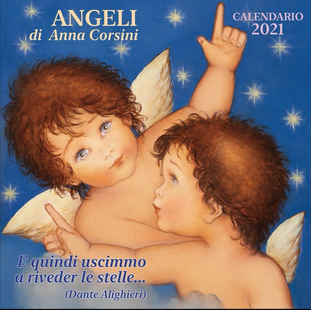 Calendario 2021 Degli Angeli Calendario 2021   Anna Corsini